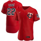 Cheap Minnesota Twins #22 Miguel Sano Men's Nike Red Alternate 2020 Authentic Player MLB Jersey
