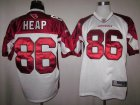 Cheap Cardinals #86 Todd Heap White Stitched NFL Jersey