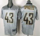 Cheap Saints #43 Darren Sproles Grey Shadow Stitched NFL Jersey