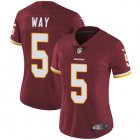 Cheap Nike Redskins #5 Tress Way Burgundy Team Color Women's Stitched NFL Vapor Untouchable Limited Jersey