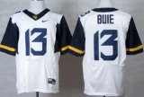 Cheap West Virginia Mountaineers #13 Andrew Buie 2013 White Elite Jersey