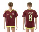 Cheap Venezuela #8 Rincon Home Soccer Country Jersey