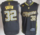 Cheap Los Angeles Clippers #32 Blake Griffin Black Electricity Fashion Jersey