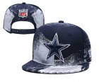 Cheap Cowboys Team Logo Navy White Adjustable Hat YD