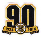 Cheap Stitched NHL Boston Bruins Team 90th Anniversary Season Logo Jersey Patch
