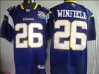 Cheap Vikings #26 Antoine Winfield Purple Team 50TH Patch Stitched NFL Jersey