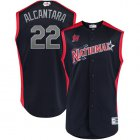 Cheap marlins #22 Sandy Alcantara Navy 2019 All-Star National League Stitched MLB Jersey