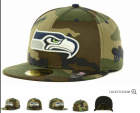 Cheap Seattle Seahawks fitted hats 11