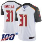 Cheap Nike Buccaneers #31 Antoine Winfield Jr. White Men's Stitched NFL 100th Season Vapor Untouchable Limited Jersey