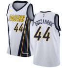 Cheap Nike Pacers #44 Bojan Bogdanovic White NBA Swingman Earned Edition Jersey