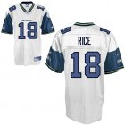 Cheap Seahawks #18 Sidney Rice White Stitched NFL Jersey
