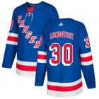 Cheap Adidas Rangers #30 Henrik Lundqvist Royal Blue Home Authentic Stitched Youth NHL Jersey
