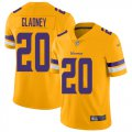 Cheap Nike Vikings #20 Jeff Gladney Gold Youth Stitched NFL Limited Inverted Legend Jersey