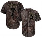 Cheap Angels #7 Zack Cozart Camo Realtree Collection Cool Base Stitched Youth MLB Jersey
