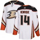 Cheap Adidas Ducks #14 Adam Henrique White Road Authentic Youth Stitched NHL Jersey