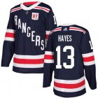 Cheap Adidas Rangers #13 Kevin Hayes Navy Blue Authentic 2018 Winter Classic Stitched Youth NHL Jersey
