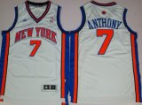 Cheap New York Knicks #7 Carmelo Anthony Revolution 30 Swingman White Jersey
