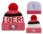 Cheap NFL San Francisco 49ers Logo Stitched Knit Beanies 012
