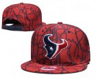 Cheap Texans Team Logo Red Adjustable Hat TX