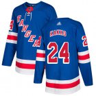 Cheap Adidas Rangers #24 Kaapo Kakko Royal Blue Home Authentic Stitched NHL Jersey