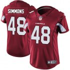 Cheap Nike Cardinals #48 Isaiah Simmons Red Team Color Women's Stitched NFL Vapor Untouchable Limited Jersey