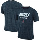 Cheap Los Angeles Angels Nike Authentic Collection Velocity Team Issue Performance T-Shirt Navy