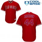 Cheap Angels #44 Reggie Jackson Red Cool Base Stitched Youth MLB Jersey
