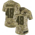 Cheap Nike Cardinals #48 Isaiah Simmons Camo Women's Stitched NFL Limited 2018 Salute To Service Jersey