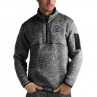 Cheap Vancouver Canucks Antigua Fortune Quarter-Zip Pullover Jacket Charcoal