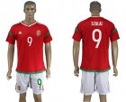 Cheap Hungary #9 Szalai Home Soccer Country Jersey