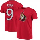 Cheap Ottawa Senators #9 Bobby Ryan Reebok Third Name & Number T-Shirt Red