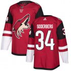 Cheap Adidas Coyotes #34 Carl Soderberg Maroon Home Authentic Stitched NHL Jersey