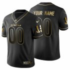 Cheap Cincinnati Bengals Custom Men's Nike Black Golden Limited NFL 100 Jersey