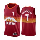 Cheap Nike Nuggets #7 Facundo Campazzo Red NBA Swingman 2020-21 City Edition Jersey