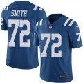 Cheap Nike Colts #72 Braden Smith Royal Blue Men's Stitched NFL Limited Rush Jersey