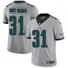 Cheap Nike Eagles #31 Nickell Robey-Coleman Silver Men's Stitched NFL Limited Inverted Legend Jersey
