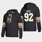 Cheap Vegas Golden Knights #92 Tomas Nosek Black adidas Lace-Up Pullover Hoodie