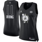 Cheap Nike Boston Celtics #11 Kyrie Irving Black Women's NBA Jordan Swingman 2018 All-Star Game Jersey