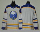 Cheap Men's Buffalo Sabres Blank White Adidas 2020-21 Alternate Authentic Player NHL Jersey