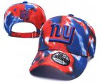 Cheap New York Giants Team Logo Red Royal Peaked Adjustable Fashion Hat YD