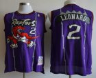 Cheap Men's Toronto Raptors #2 Kawhi Leonard Hardwood Classic Purple Swingman Jersey