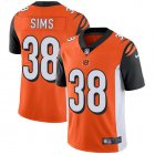Cheap Nike Bengals #38 LeShaun Sims Orange Alternate Youth Stitched NFL Vapor Untouchable Limited Jersey
