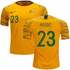 Cheap Australia #23 Rogic Home Soccer Country Jersey