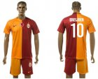 Cheap Galatasaray SK #10 Sneijder Home Soccer Club Jersey