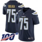 Cheap Nike Chargers #75 Bryan Bulaga Navy Blue Team Color Youth Stitched NFL 100th Season Vapor Untouchable Limited Jersey