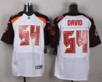 Cheap Nike Buccaneers #54 Lavonte David White Men's Stitched NFL New Elite Jersey