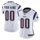 Cheap Nike New England Patriots Customized White Stitched Vapor Untouchable Limited Women's NFL Jersey