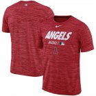 Cheap Los Angeles Angels Nike Authentic Collection Velocity Team Issue Performance T-Shirt Red