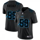Cheap Carolina Panthers #59 Luke Kuechly Men's Nike Team Logo Dual Overlap Limited NFL Jersey Black