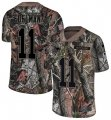 Cheap Nike Patriots #11 Julian Edelman Camo Men's Stitched NFL Limited Rush Realtree Jersey